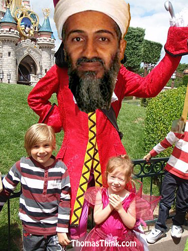 Ben Laden à Disneyland Paris