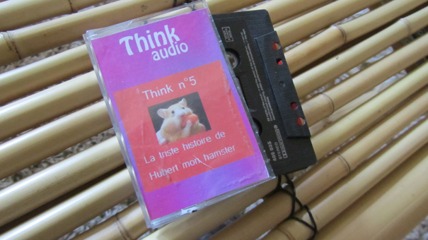 La K7 audio think de Hubert le Hamster!