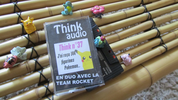 la k7 du think sur les figurines pokémon