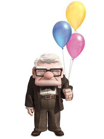 """UP"" CARL FREDRICKSEN ©Disney/Pixar.  All Rights Reserved."